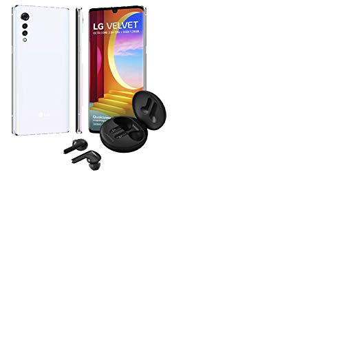 Smartphone LG Velvet 6GB/128GB - Aurora White + Fone de Ouvido Tone Free