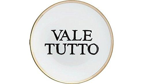 BITOSSI HOME & Funky Table LA TAVOLA SCOMPOSTA, Piatto Vale Tutto Ø 17 CM