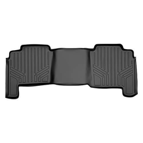 MAXLINER Floor Mats 2nd Row Liner Black for 2004-2008 Ford F-150 SuperCrew/Lincoln Mark LT