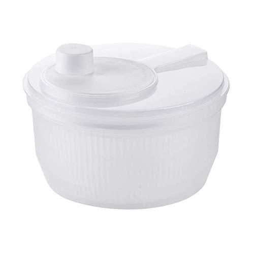 YIBOKANG Spinner Ensalada Diseño Multifuncional Grande BPA Gratis, Mango Mango y bloqueofrutas y Verduras secador seco