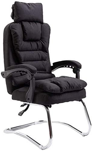 Silla de Oficina, Escritorio de la computadora for sillas ergonómicas de Alta Tela Volver Tarea ejecutiva de Boss Juego de Director Presidente reposacabezas reclinable Sillón