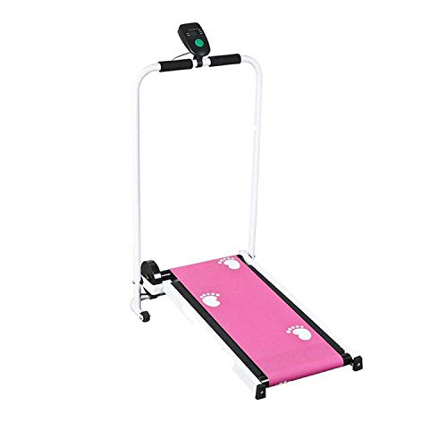 SZ-JSQC Mini Home Treadmill Multifunción Mute Fitness Equipment Cinturón Ancho para Correr y Caminar Deportes en Interiores