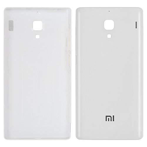 Carcasa Batería Tapa Trasera Piezas de Reparación Compatible con Xiaomi Red Rice 1S, (blanco)