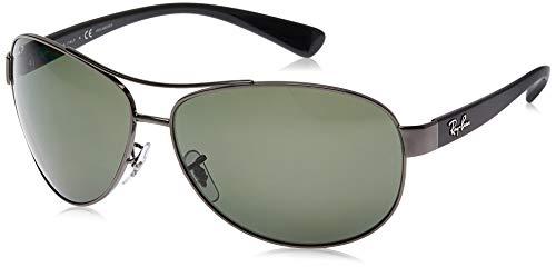 Ray Ban Sonnenbrille Metallic RB 3386 004/9A grau