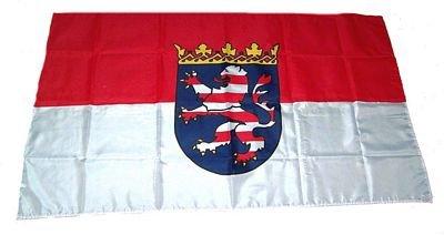 Fahne Stockflagge Hessen NEU 30 x 45 cm Flagge