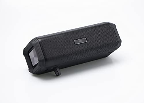NK ALPORT Altavoz Bluetooth Portátil -  Inalámbrico,  10W,  Sonido Estéreo TWS (Sincroniza 2 Altavoces),  Asistente de Voz (Google y Siri),  Hi-  Fi,  Bluetooth 5.0,  USB,  Negro (Compatible: iOS & Android)