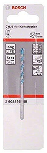 Bosch Professional 2 608 595 359 Broca Multiuso CYL-9 MultiConstruction 3 x...