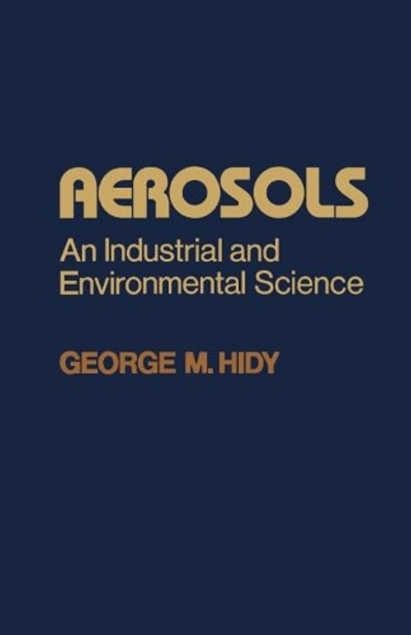 以来フィード二十Aerosols: An Industrial and Environmental Science
