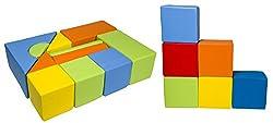 Il soggetto della lista sono due set: 11 blocchi di schiuma (Castel) e 6cuboide elementi a forma. Ideale per asili, giardini e sale giochi. Tutti gli elementi sono sicuri e morbidi, possono essere utilizzati per creare un design diverso, ideale per g...