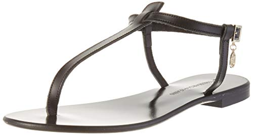 Trussardi Jeans Sandal Flat ECOLEATHER, Ciabatte Donna, K299, 38