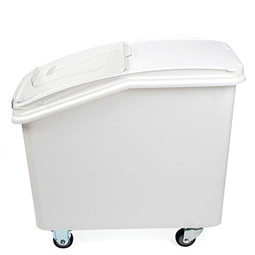sujrtuj 80 L Aufbewahrungsbox Mehlwagen Lagerbehälter Lebensmittel küche Vorratsbehälter