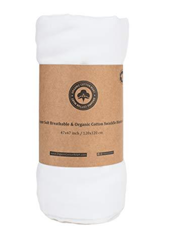 Mantas de algodón orgánico – Gots Certificado – Colores neutros Baby Shower