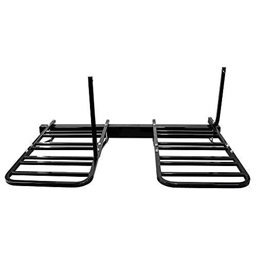 Quick Products QP-RBM4R RV Bumper-Mounted 4-Bike Rack , Black