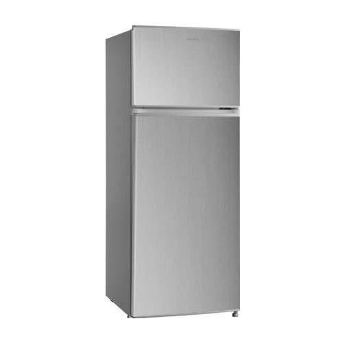 Comfee hd273fn1si autonome 207L A + Silber Kühlschränken–réfrigérateurs-congélateurs (autonome, silber, rechts, Edelstahl, Glas, 207L)