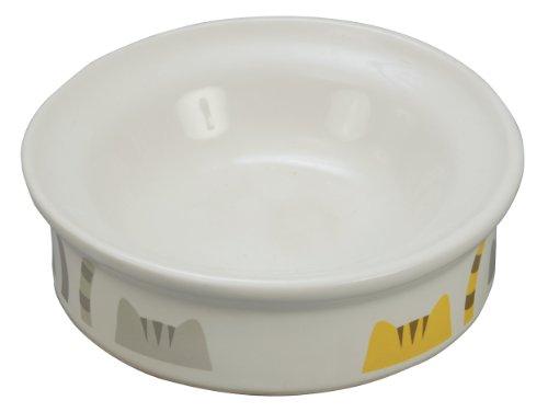 ペティオ (Petio) 猫専用陶器食器 ドライフード向き 猫としっぽ