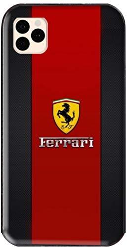 Ferrari rouge et noir Handyhülle passt iPhone 11, 11 pro, 11 pro max, XS, XS max, XR, 8, 8 +, 7,...