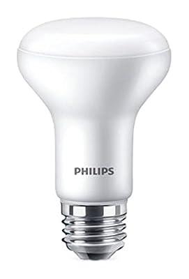 Philips LED Dimmable R20 Flood Light Bulb with Warm Glow Effect: 450-Lumen, 2200-2700 Kelvin, 6-Watt (45-Watt Equivalent), E26 Base, Soft White