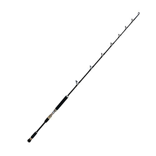 EatMyTackle Amberjack King Jigging Rod | Saltwater Fishing Rod (20-40lb. Moderate Fast Action, 2pc)