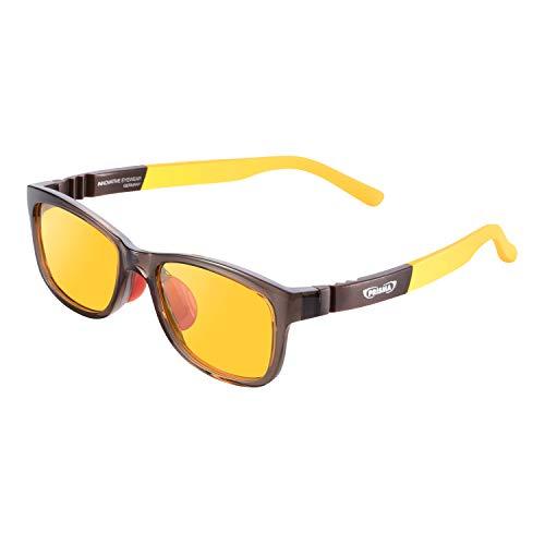 PRiSMA KIDS Blaulichtfilterbrille für Kinder mit LiTE95 Blaulichtfilter, Kinderbrille K3704 mit 95% Blaufilter und robuster Fassung