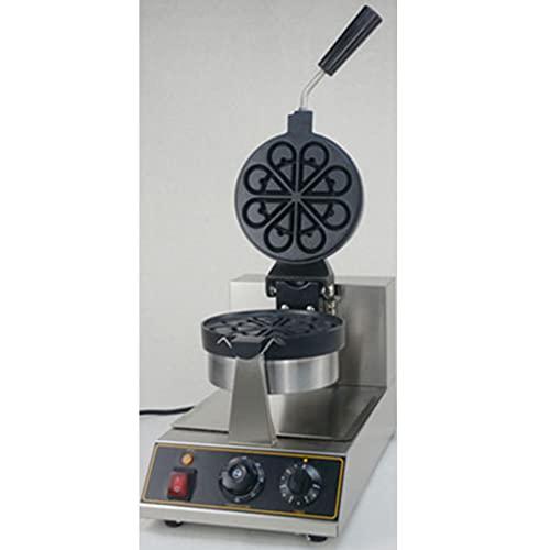 Gofrera Eléctrica De Huevo De 1100W En Máquinas De Refrigerios/Máquina De Gofres De Huevo De Hong Kong/Máquina De Gofres De Burbujas Digitales