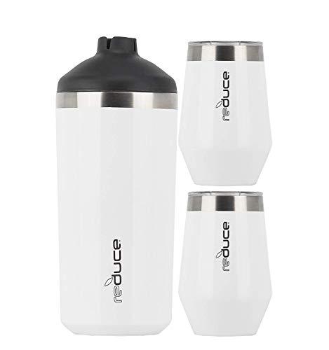 Reduce Wine Cooler Set, White