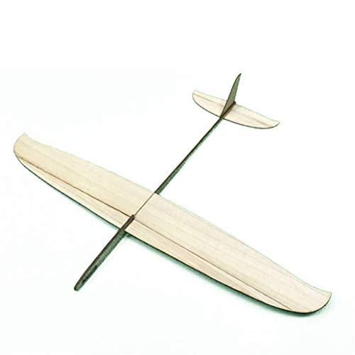 Ogquaton Premium Flugzeug Segelflugzeug Handwurf Segelflugzeug Holz Montieren Außenflugzeug Modell Kinder DIY Handwerk Spielzeug Student Bequem