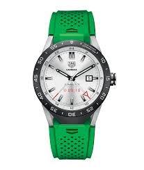 TAG Heuer Conectado Reloj Inteligente (Android/iPhone) (Verde) sar8080. ft6059