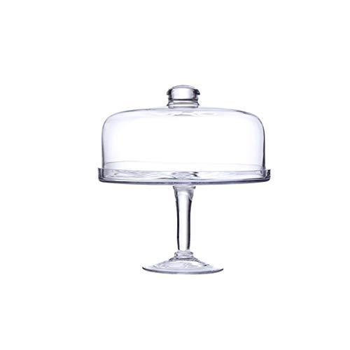 Bowl-Q QFF- Plato de Fruta Cúpula de Cristal Transparente, Partido de la...