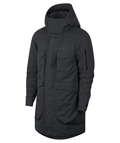 Nike Sportswear Tech Pack Down Fill Men's Parka Jacket (Large, Dark Ash)