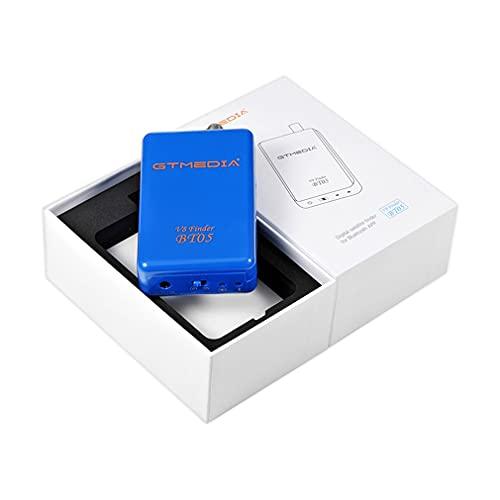 HehiFRlark GTMEDIA V8 Finder BT05 Buscador de Estrellas inalámbrico Buscador de satélite Digital Azul