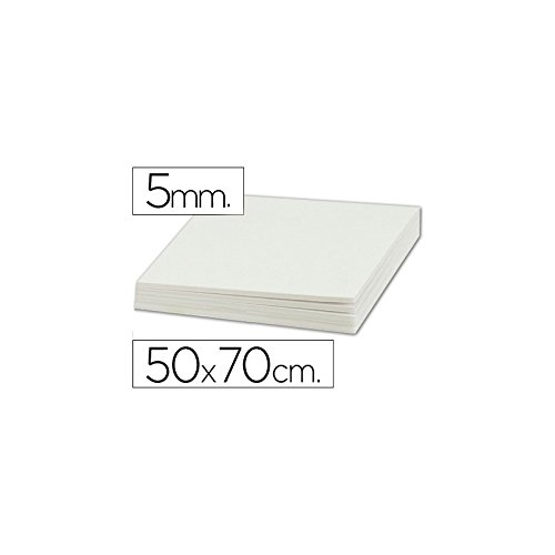 Liderpapel - Cartón Pluma Doble Cara 50X70 Cm Espesor 5 Mm