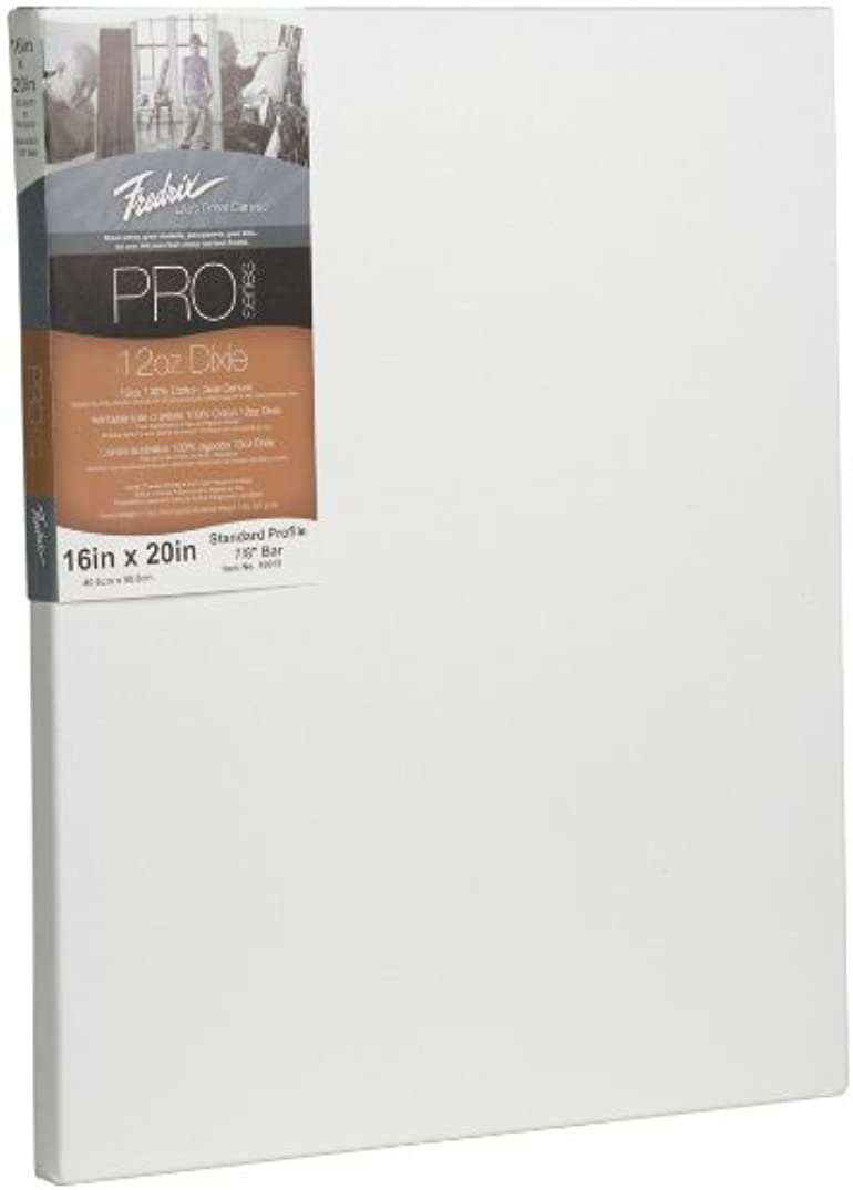 Fredrix 49015 12-Ounce Dixie Standard Stretched Canvas, 16 by 20-Inch