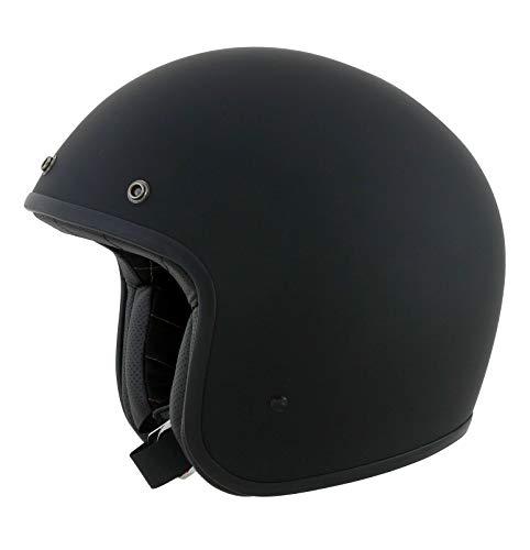 AFX Unisex-Erwachsene 0104-1137 Helm, Flach Schwarz, X-Small