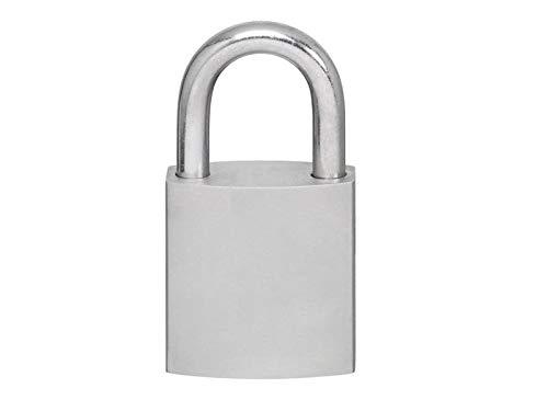 EVVA EPS Vorhangschloss HPM mit 2 Schlüssel + Sicherungskarte, einzelschließend oder gleichschließend, Schließanlage, Vorhängeschloss mit Niro-Bügel Länge 90 mm