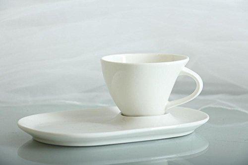 12tlg. Designer Porzellan im Geschenkbox Mocca Espresso Tassen Moccatassen