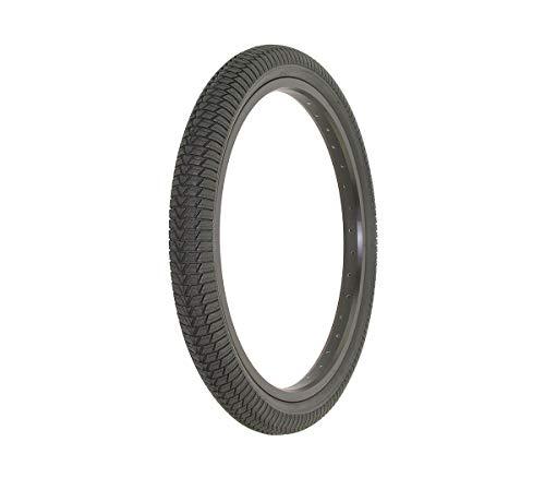 Alta Bicycle Tire Duro 20' x 1.95' Bike Tire BMX Cross Thread Style (Black)