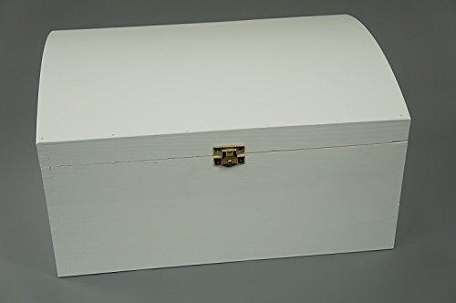 Baúl de madera, ideal para almacenamiento o para guardar los tesoros de...