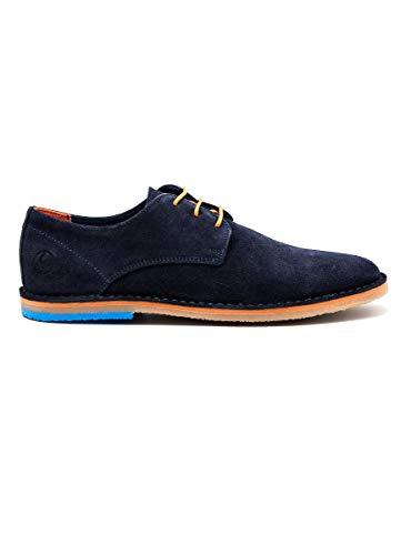 El Ganso 1120s200004, Zapatos de Cordones Oxford para Hombre, Azul (Azul Marino 0004), 44 EU