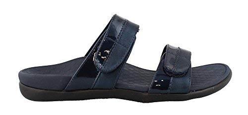 Vionic Women s, Shore Slide Sandal Navy 9 M