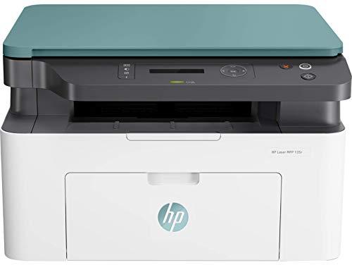 HP - Stampante laser 135r, multifunzione, monocromatica (20 ppm, 1200 x 1200 dpi, capacità di alimentazione 150 fogli, USB); stampa, scansiona e copia