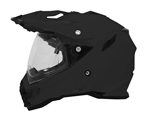 Integralhelm AFX FX-41 Dual Sport Farbe schwarz matt Größe Medium geprüft