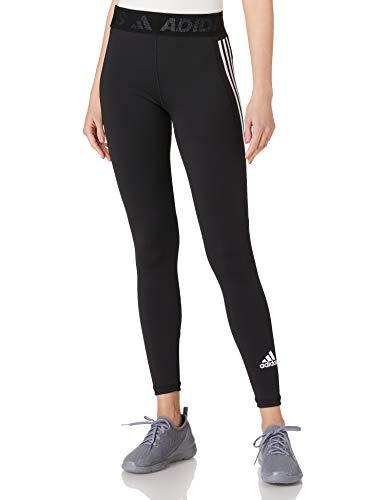 adidas GL0685 TF L 3S T Leggings Donna Black/White XS