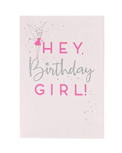 Geburtstagskarte für Mädchen, Motiv: Tinkerbell