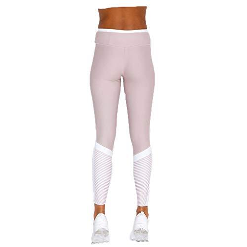 MINXINWY_Leggins de mujer Fitness Cintura Alta, Malla Impresión de Moda Sexy Mallas...