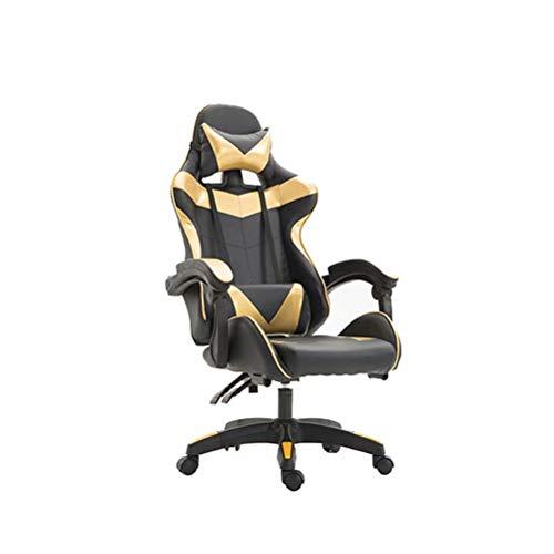 Ergonomisch Ontworpen Bureaustoel, Professionele Gamingstoel (in Hoogte Verstelbaar, Nylon Onderstel, Liggende 160 °)