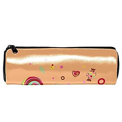 Trousse à crayons Pochette à crayons Trousse de maquillage Grande capacité Lollipops Candy pour crayon, organisateur cosmétique