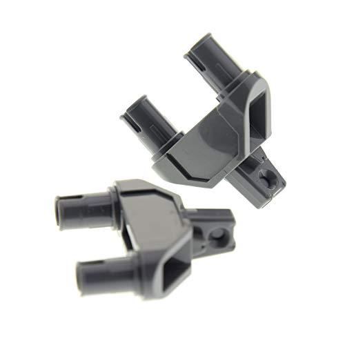 2 x Lego System Verbinder Gelenk Stein neu-dunkel grau 1x3 Raster Triangel Scharnier Pin Hinge Star Wars 75147 75156 71042 10195 76021 7237 7680 47973