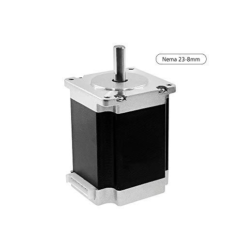 Nema 23 Motor paso a paso con conductores de motor Diámetro del eje 8 mm Máquina de alto torque Motor paso a paso 23HS7628 Kit de piezas de impresora bipolar 3D