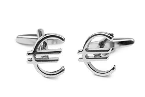 Sologemelos - Boutons De Manchette Euro - Argenté - Hommes - Taille Unique