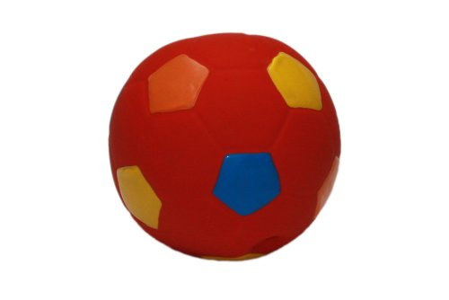 Nobby Latex Fußball mehrfarbig 12 cm